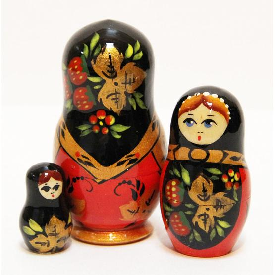 Khokhloma Stacking Doll 2