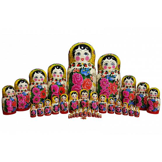 Semyonov 40 Piece Russian Doll 1