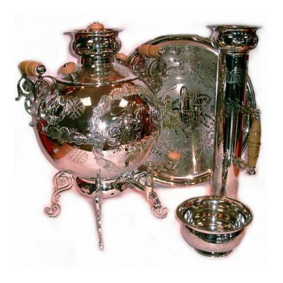Troika Combined Samovar Set 1