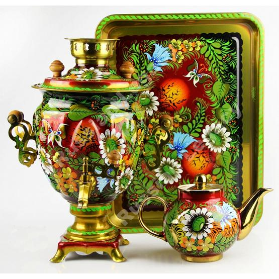 Forest Electric Samovar Set