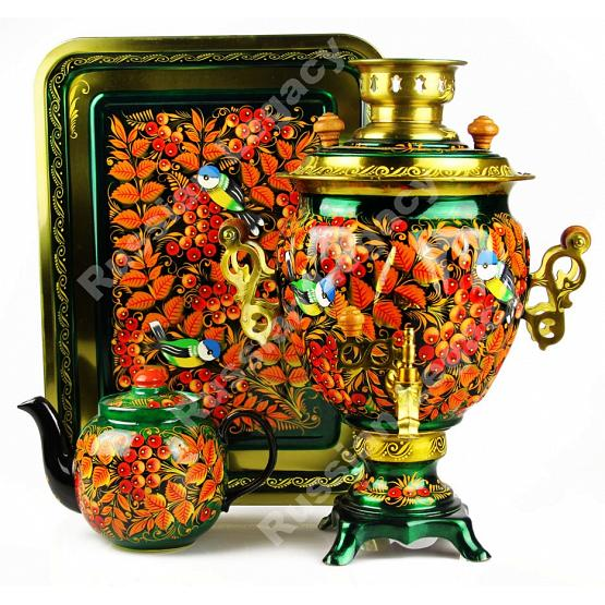 Rowan Painted Samovar Set