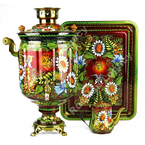 Large Electric Samovar Set