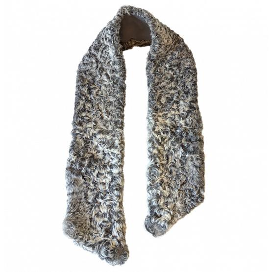 Persian Lamb & Cashmere Scarf 1