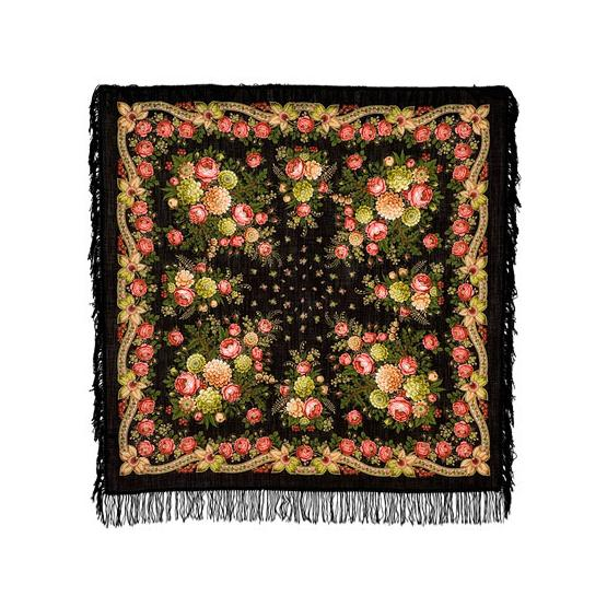 Black Eyes Pavlovo Posad Shawl