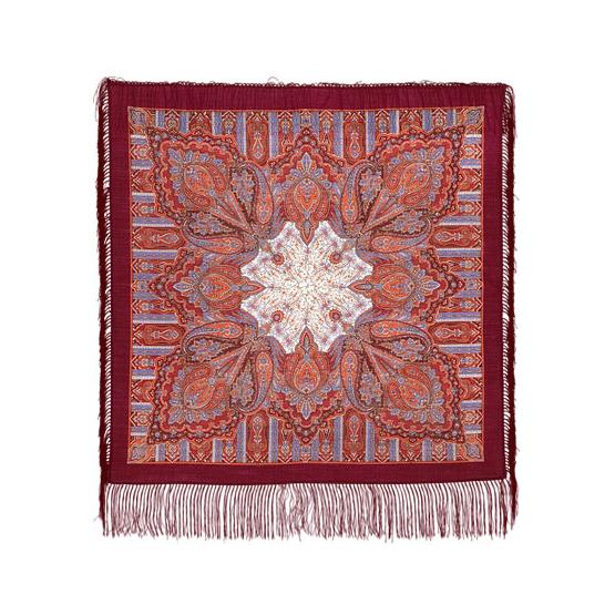 Contemplation Pavlovo Posad Shawl