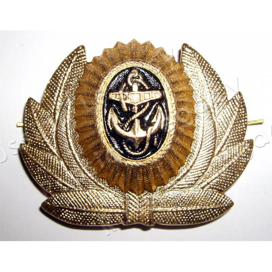 Russian Navy General Hat Badge