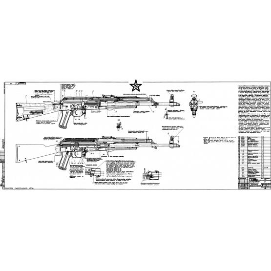 Modernizing Kalashnikov Signed Blueprint 1