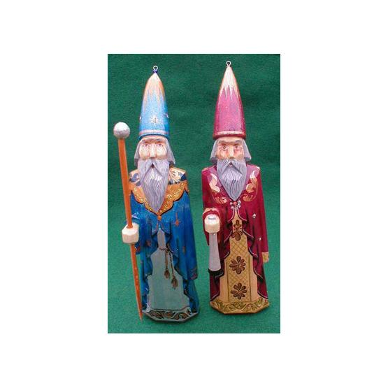 Wizard Christmas Ornament