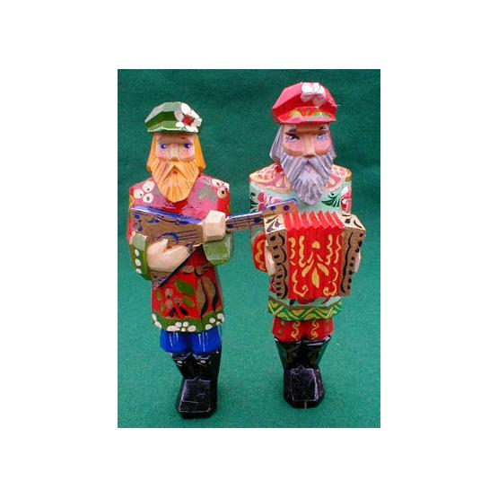 Russian Musician Christmas Ornament