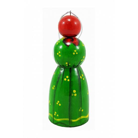 Russian Lady Christmas Ornament 2