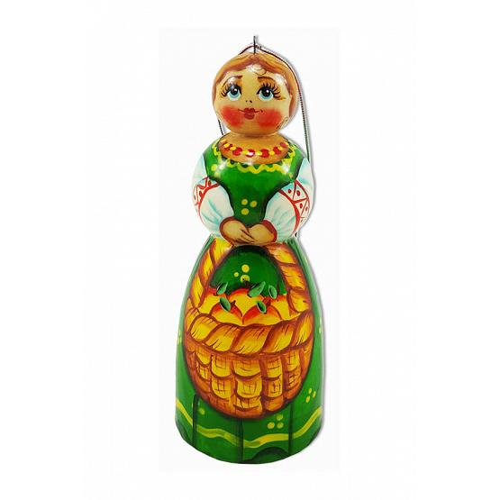 Russian Lady Christmas Ornament 1