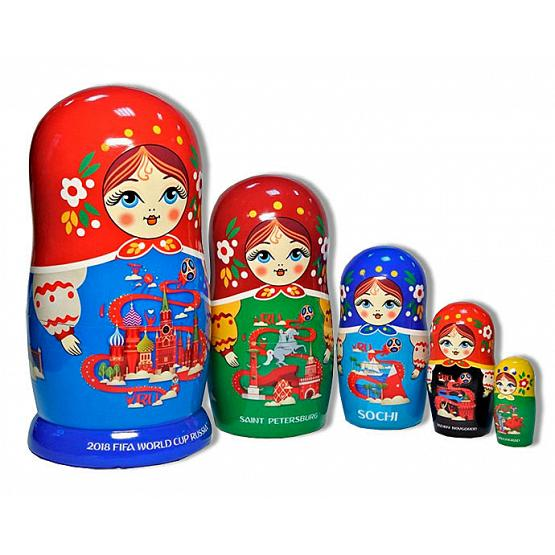2018 World Cup Matryoshka 1