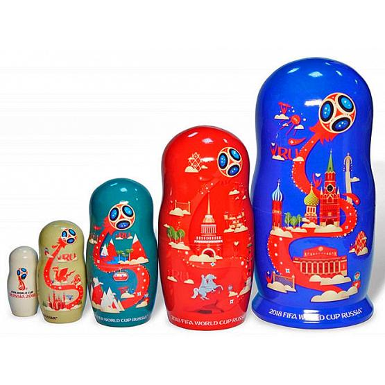 2018 World Cup Nesting Doll 2