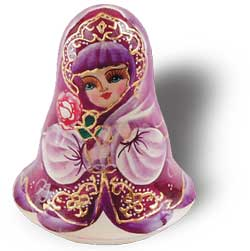Rose Girl Chime Doll
