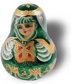 Emerald Girl Chime Doll