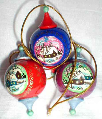 Ball Christmas Ornament