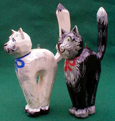 'Cat' Christmas Ornament