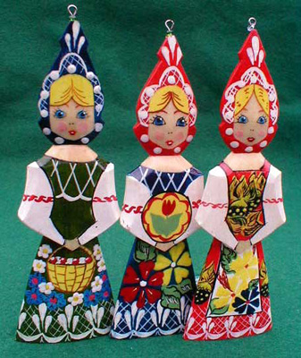 Russian Maiden Christmas Ornament | Russian Legacy