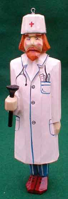 Doctor Christmas Ornament