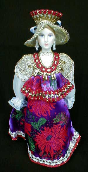 Novgorod Merchant S Wife Porcelain Doll Russian Legacy