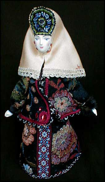 """18th Century Town-Lady"" Porcelain Doll"