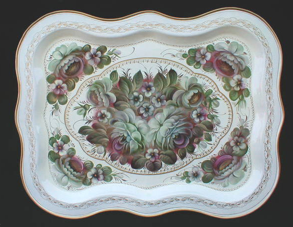 'White Nights' Russian Tray
