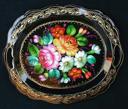 'Autumn' Russian Tray