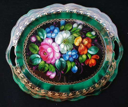 Spring Russian Tray